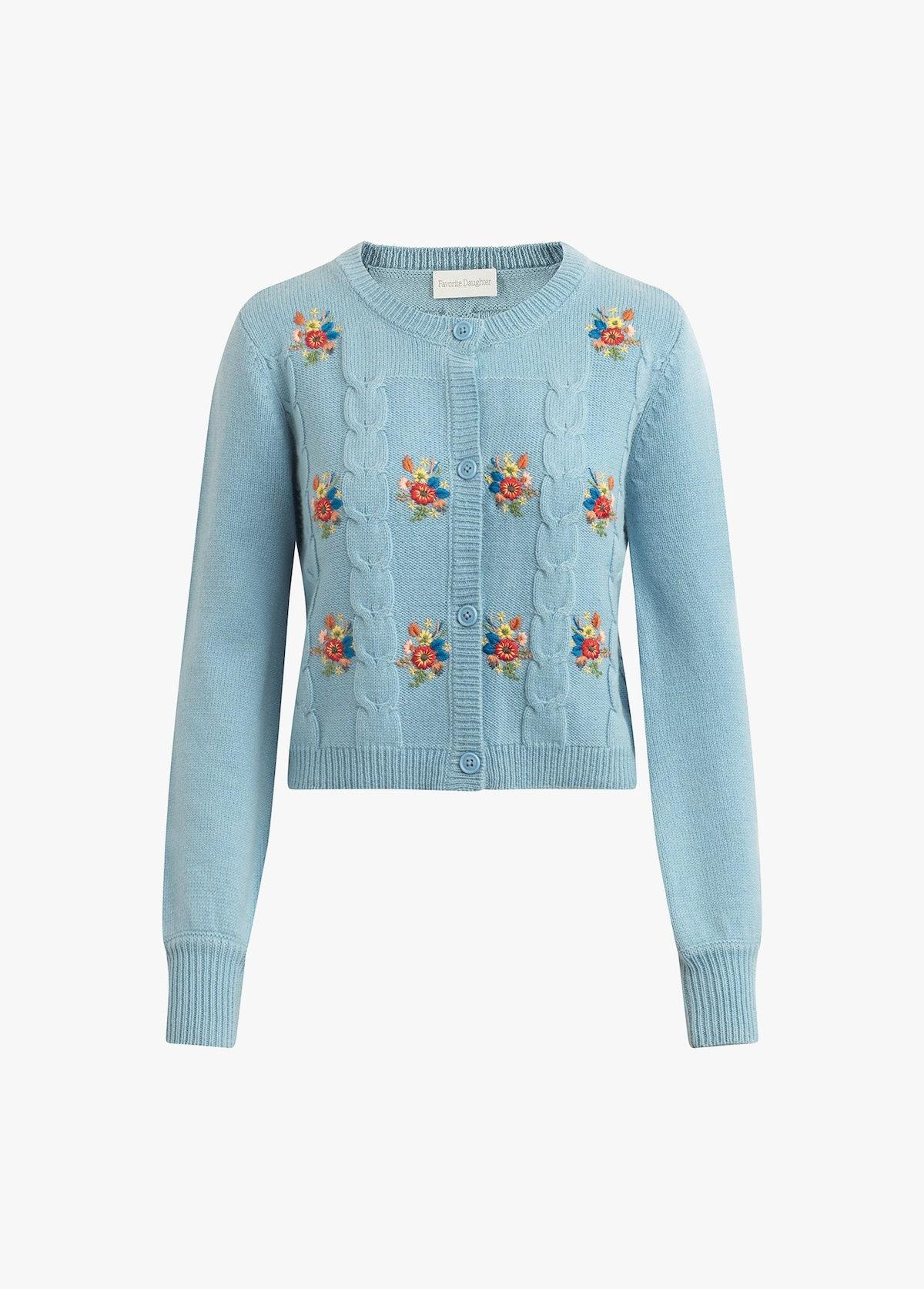 Mini Nana Embroidered Sweater