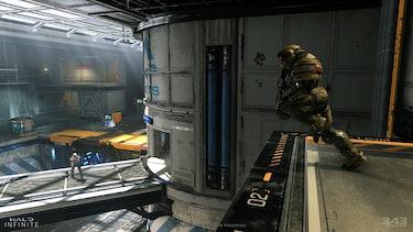 Halo Infinite PC Spartan running