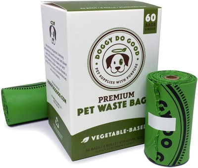 Doggy Do Good Biodegradable Pet Waste Bags (60 Count)
