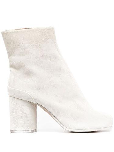 Chunky-Heel 90mm Tabi Boots