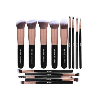 BS-MALL Makeup Brushes (14 Pieces)