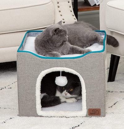 Bedsure Cat Cube Kitty Condo