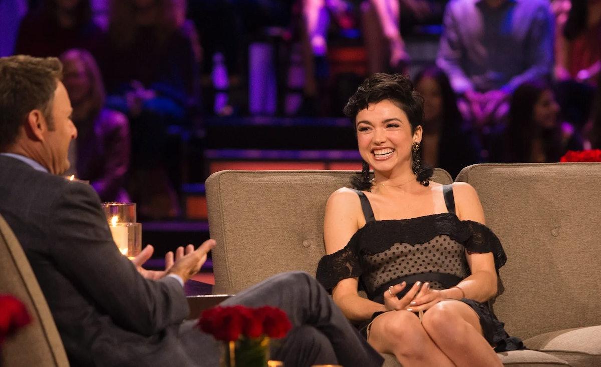 Bekah Martinez and Chris Harrison on 'The Bachelor'