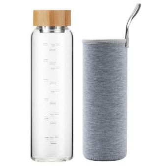 sunkey Glass Water Bottle