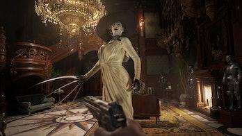resident evil village lady dimitrescu gameplay