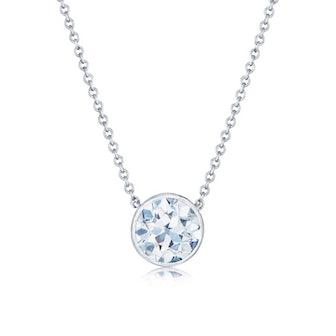 Platinum Round® Diamond Solitaire Pendant