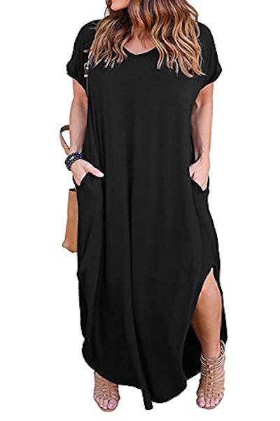 Nemidor Maxi Dress With Pockets