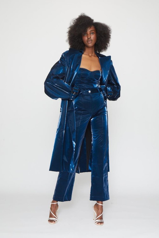 Loretta Trenchcoat Blue