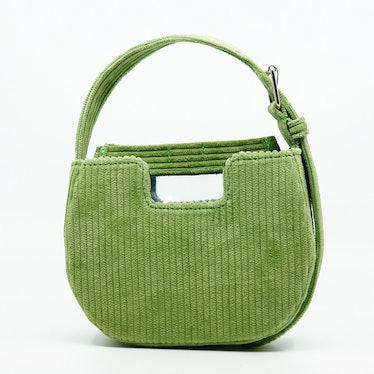Joe Joe Corduroy Bag in Green