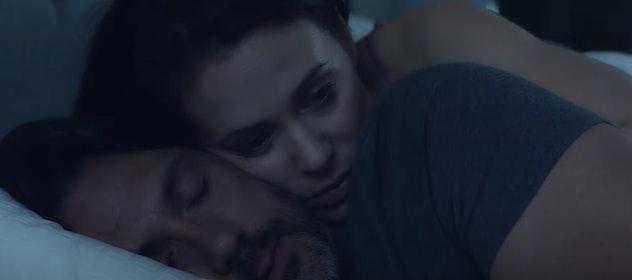 Alyssa Milano stars in Lifetime's 'Tempting Fate.'