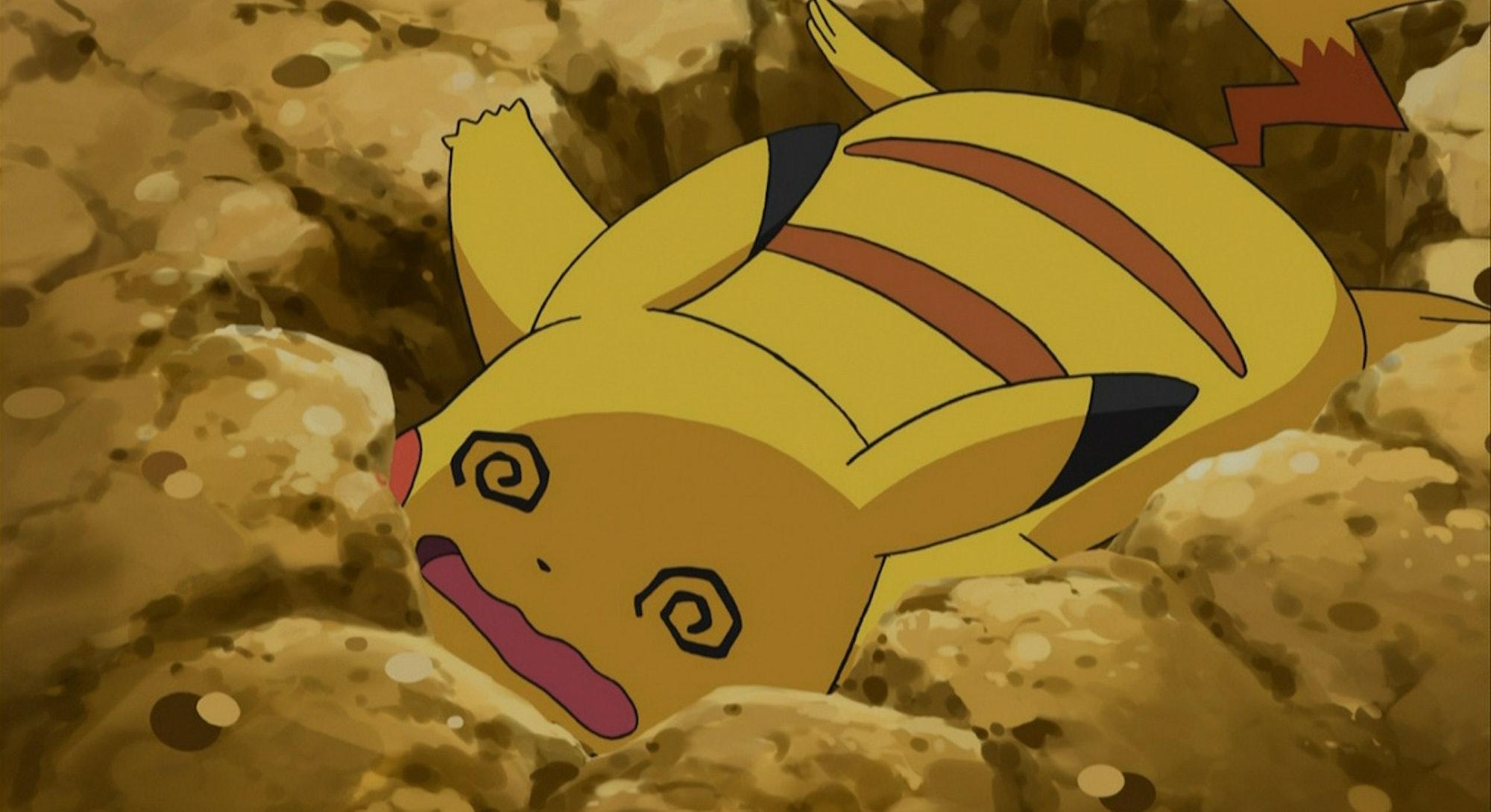 Pikachu from Pokemon.