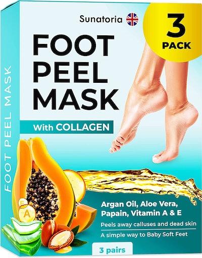 Sunatoria Foot Peeling Masks (3-Pack)