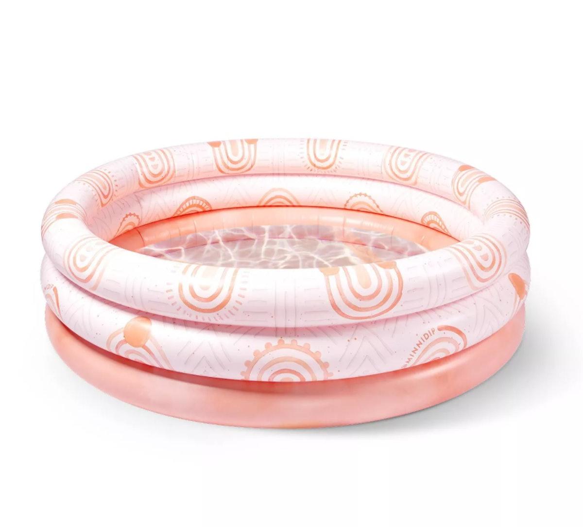 Sun-Kissed Terracotta Minnidip Adult Inflatable Pool