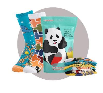 Sock Panda Subscription Box