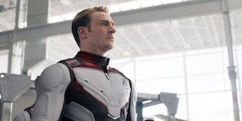 Chris Evans as Steve Rogers in Avengers: Endgame