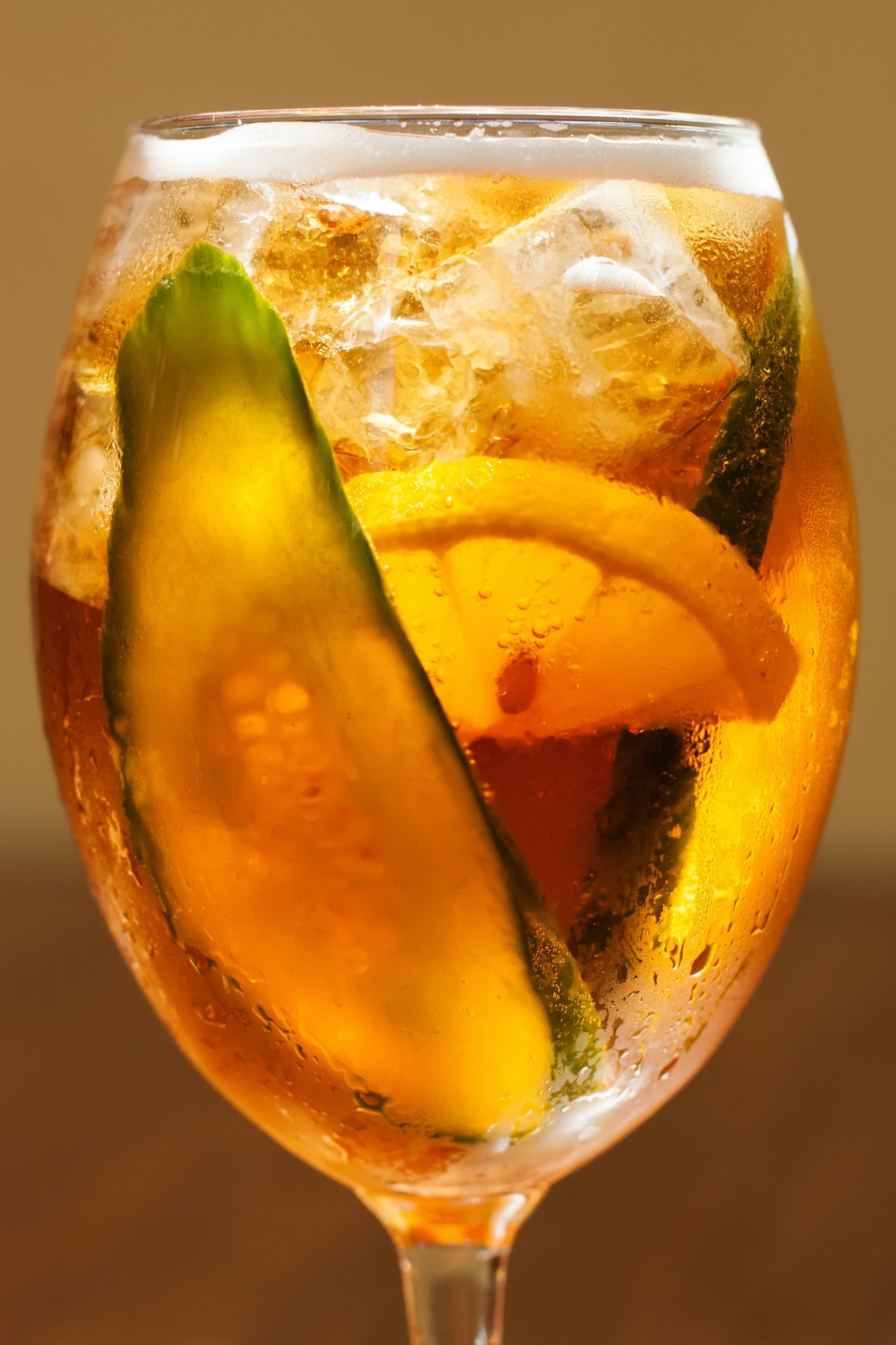 Pimm's cup summer cocktails and spritzes