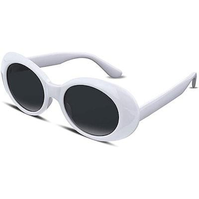 FEISEDY Oval Sunglasses
