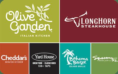 Darden Restaurants E-Gift Cards