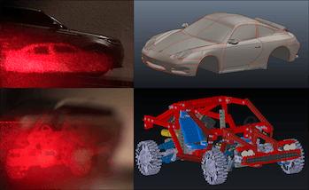 Holographic renderings