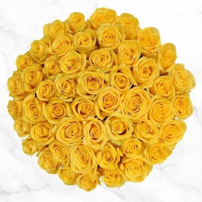 50-Stem Yellow Roses