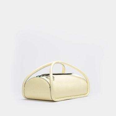 Alex Top Zip Bag in Buttercream