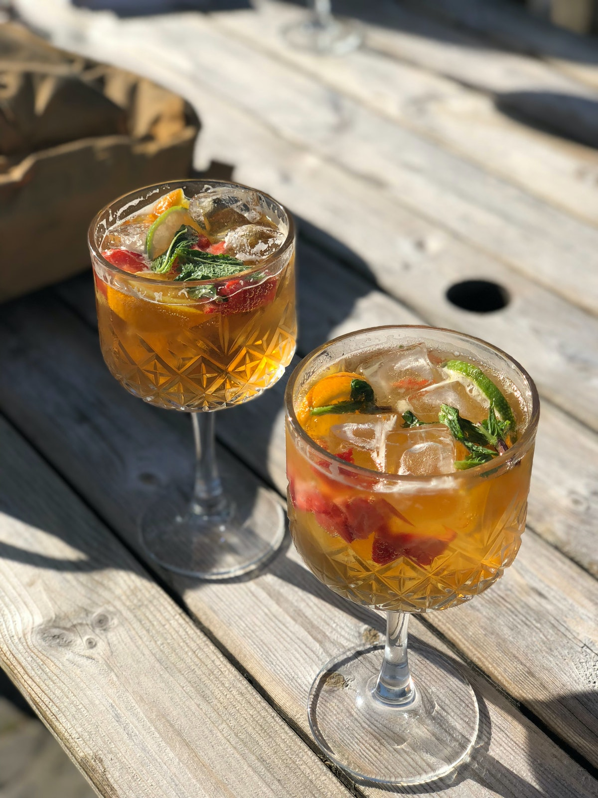 Pimm's Cups summer cocktails and spritzes