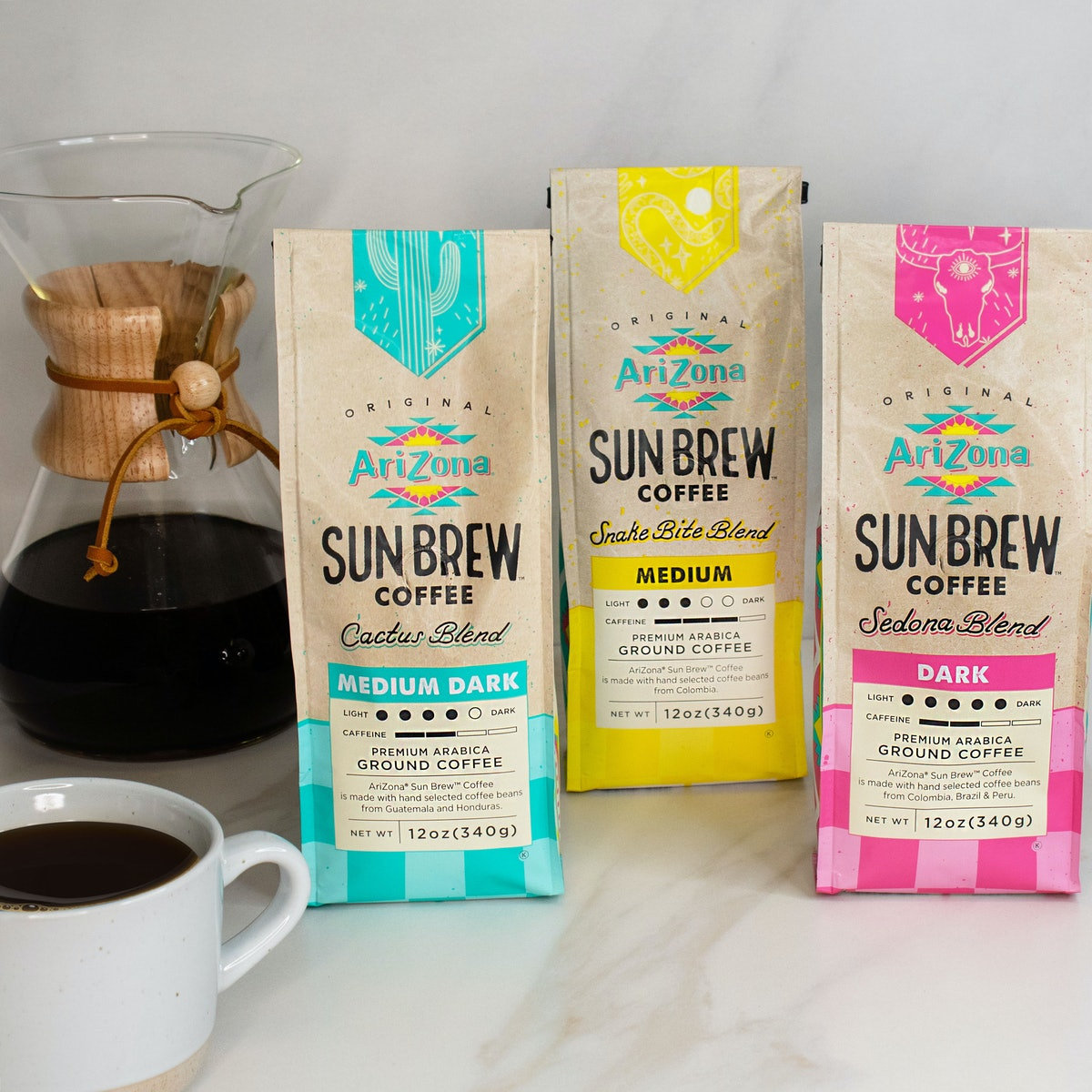 Here's what to know about AriZona Beverages' Sun Brew packaged coffee.