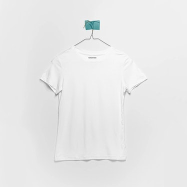 'The Softest Tee' Women's Fitted Short-Sleeve in White