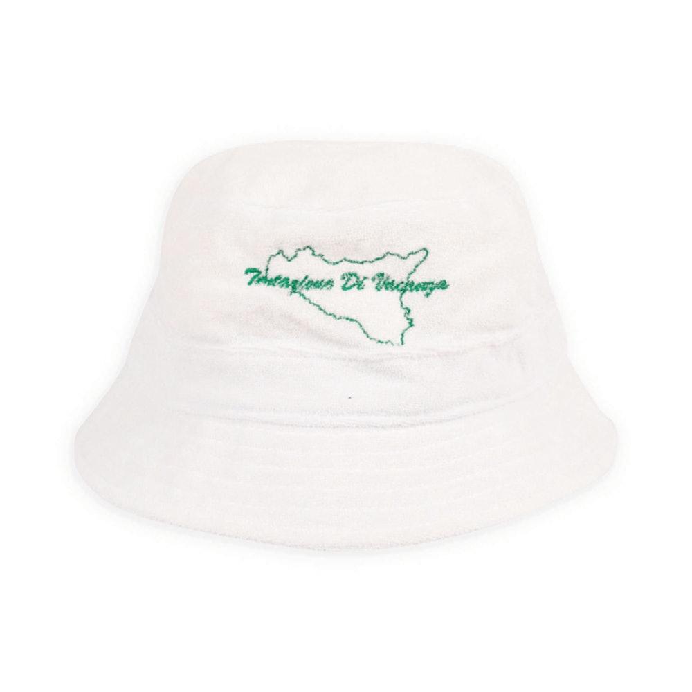 Sicily Bucket Hat - White Terry