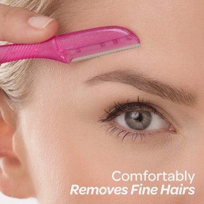 Schick Hydro Silk Touch-Up Eyebrow Razor (3-Pack)