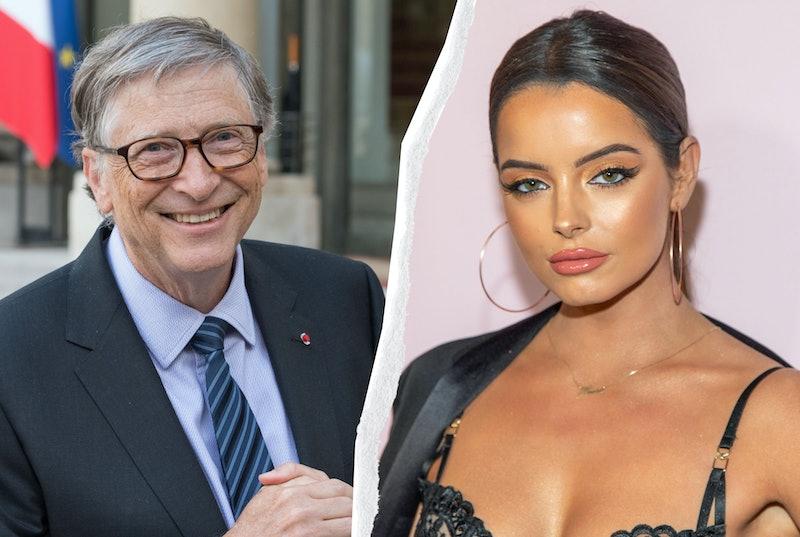 Maura Higgins & Bill Gates