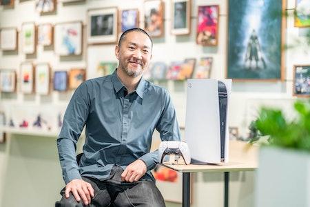 Yujin Morisawa PlayStation 5 Nike PG5 sneakers shoes Sony PS5