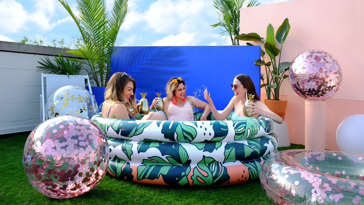 These Minnidip inflatable pools at Target for Summer 2021 include four new designs.