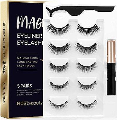 easbeauty 2020 Upgraded Magnetic Eyeliner