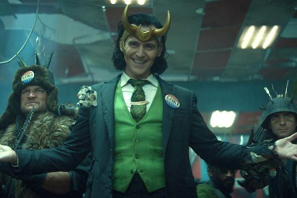 Tom Hiddleston as Loki for Disney+