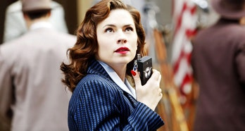 Hayley Atwell as Peggy Carter in ABC's Agent Carter