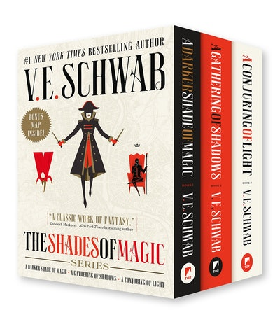Shades of Magic Boxed Set by V.E. Schwab