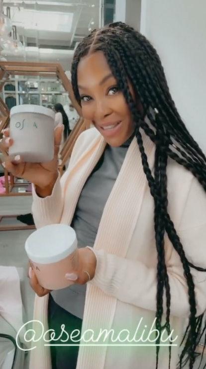 Naomi Campbell OSEA skin care