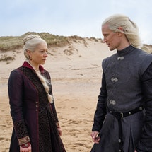 Emma D'Arcy and Matt Smith will play a Targaryen prince and princess in the 'GOT' prequel. Photo via...