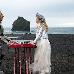 Will Ferrell & Rachel McAdams In 'Eurovision Song Contest: The Story Of Fire Saga'. Photo via Netflix