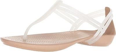 Crocs Isabella T-Strap Sandals