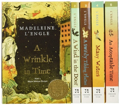 The Wrinkle in Time Quintet Boxed Set by Madeleine L'Engle