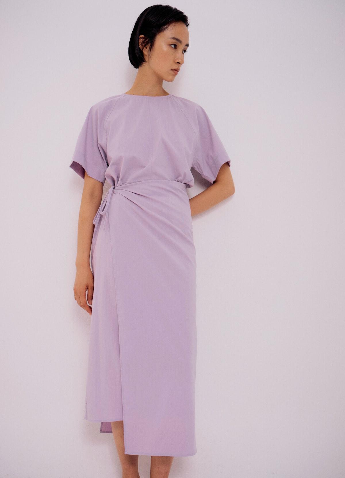 Wrap Dress in Lavender