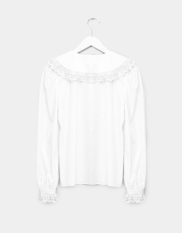 Anna Wide Collar Shirt