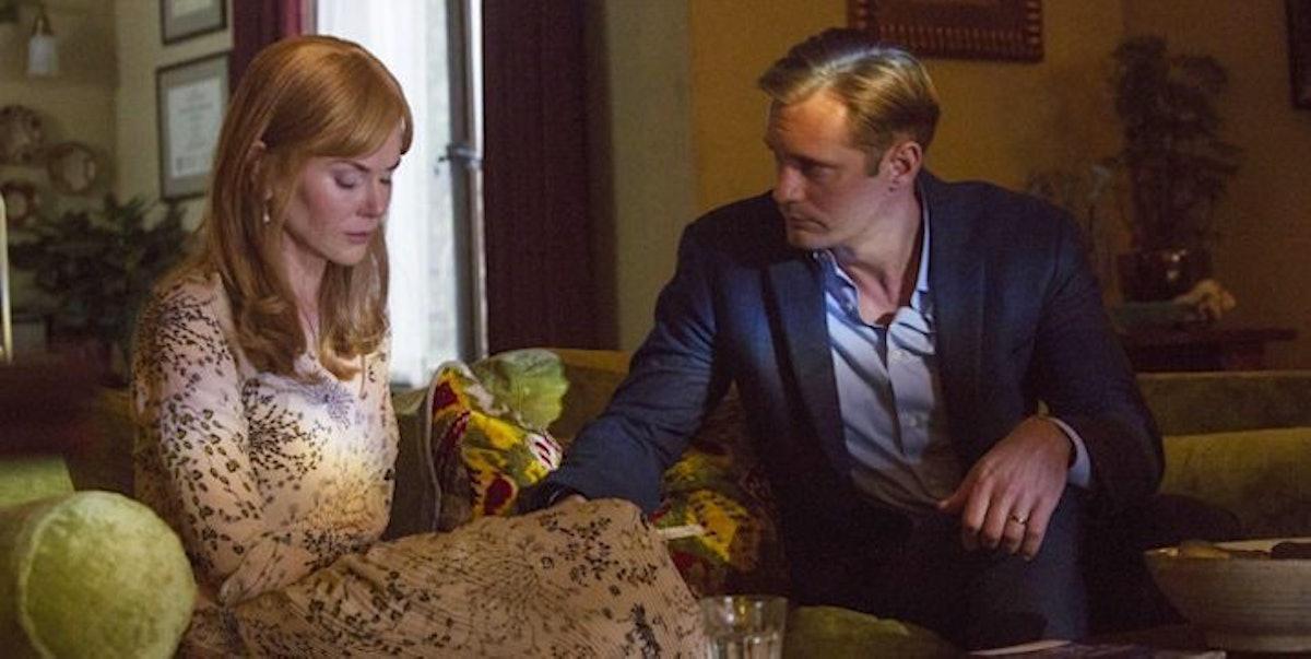 Nicole Kidman as Celeste and Alexander Skarsgård as Perry in 'Big Little Lies'