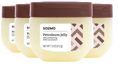 Solimo Petroleum Jelly with Cocoa Butter, (4-Pack)