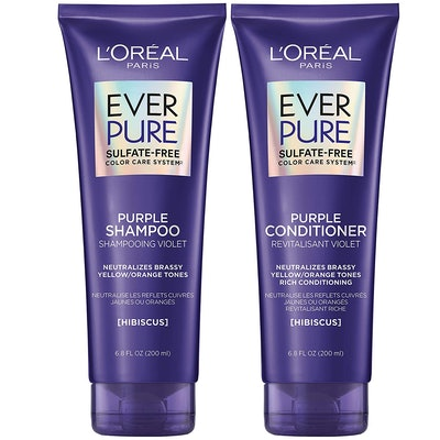 L'Oreal Paris Sulfate-Free Purple Shampoo & Conditioner Kit (2-Pack)