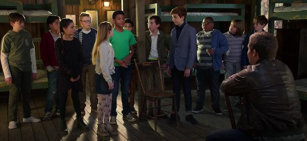 Adam Devine stars in the Disney+ original film, 'Magic Camp.'