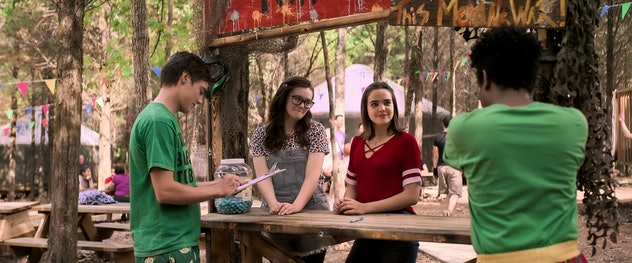 'A Week Away' is a musical about a Christian summer camp streaming on Netflix.