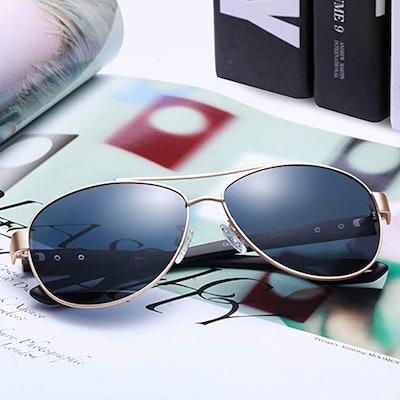 Carfia Comfort Aviator Sunglasses